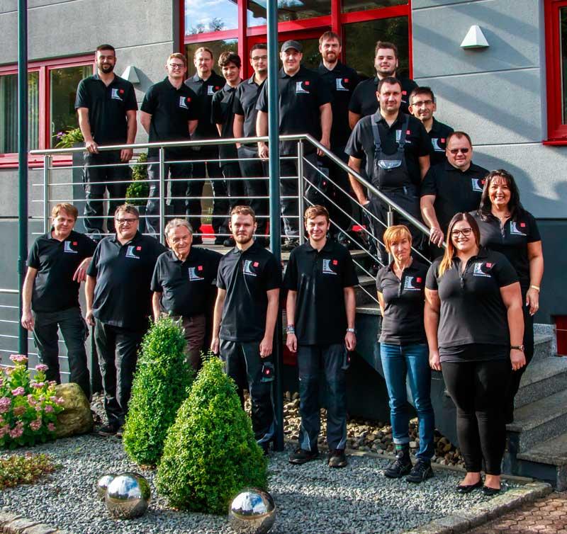 Mitarbeiter und Familie - Berger 2018