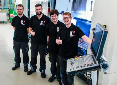 Beim Berger GmbH wird ausgebildet.