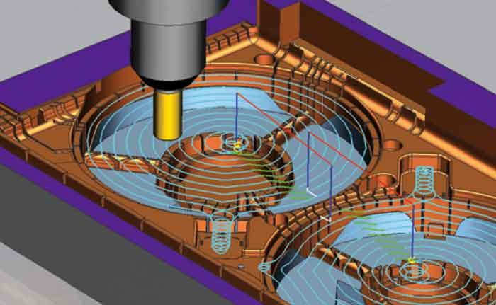 CAD CAM NX11 Teil Bearbeitung